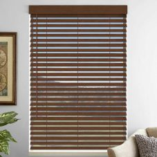 "2"" Premium Faux Wood Blinds 4762"