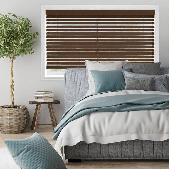 "2"" Premium Faux Wood Blinds 4764"
