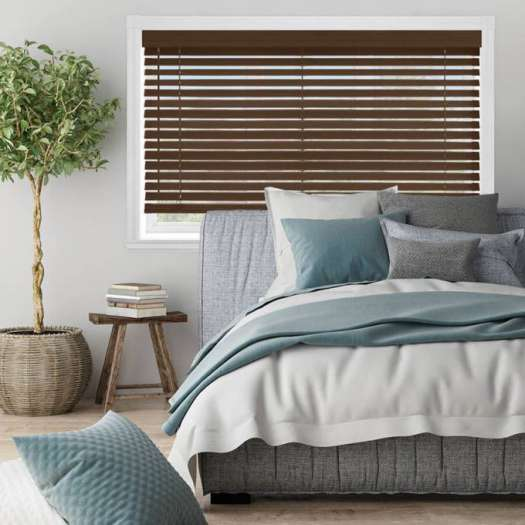 "2"" Premium Faux Wood Blinds 4764 Thumbnail"