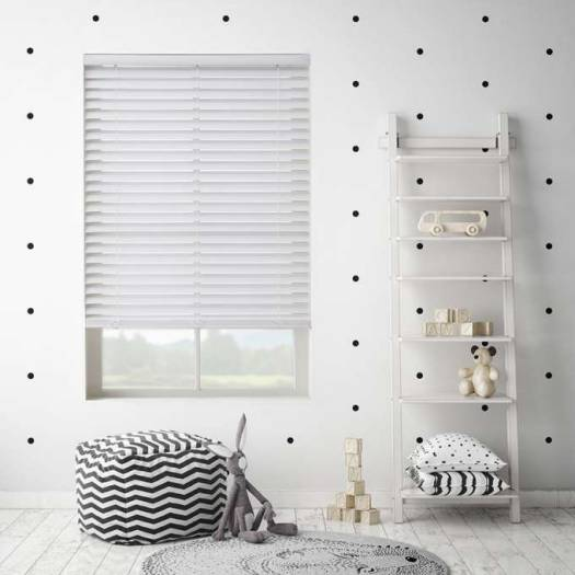 "2"" SelectWave Cordless Faux Wood Blinds 4792 Thumbnail"