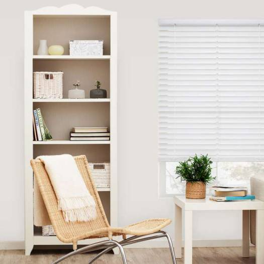 "2"" SelectWave Cordless Faux Wood Blinds 4793 Thumbnail"