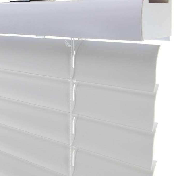 """2"""" SelectWave Cordless Faux Wood Blinds 4796"""