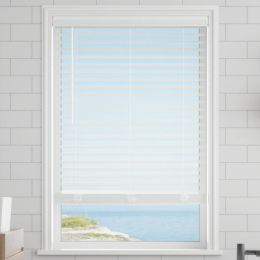 "2"" Super Value Cordless Faux Wood Blinds"