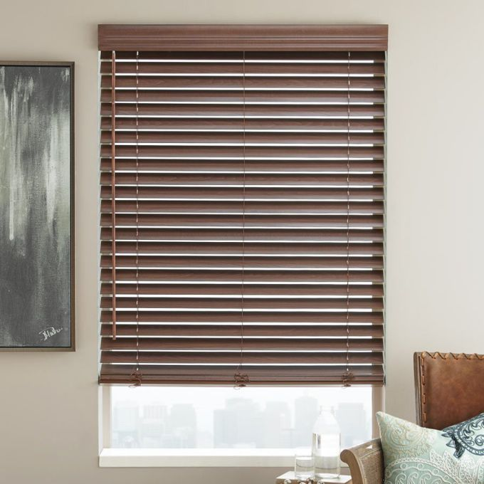 2 Quot Super Value Wood Blinds Select Blinds Canada