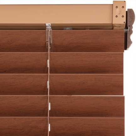 "2"" Value Cordless Faux Wood Blinds 6955"