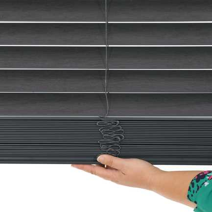 "2"" Value Cordless Faux Wood Blinds 6952"