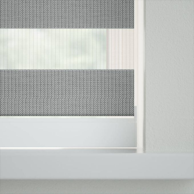 "2"" Value Room Darkening Sheer Shades 7641"