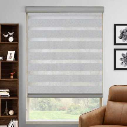 "2"" Value Room Darkening Sheer Shades 4312"