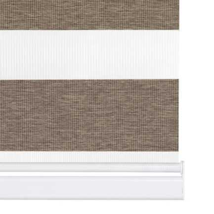 "2"" Value Room Darkening Sheer Shades 8081 Thumbnail"