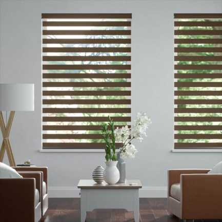 "2"" Value Room Darkening Sheer Shades 4315"