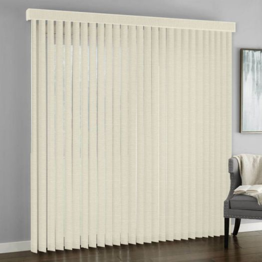 3 189 Quot Designer Fabric Vertical Blinds