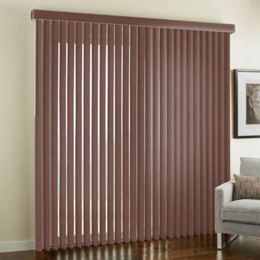 Faux Wood Vertical Blinds 6428