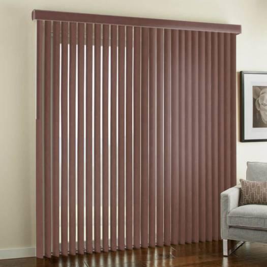 3 189 Quot Premium Faux Wood Vertical Blinds