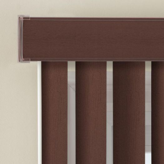 Faux Wood Vertical Blinds 6429