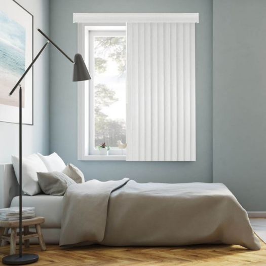 Faux Wood Vertical Blinds 6430