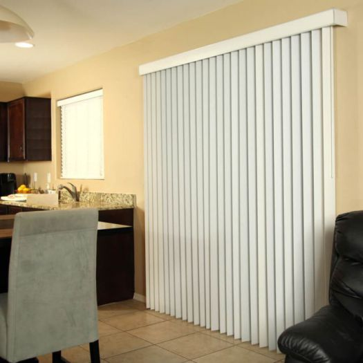 Faux Wood Vertical Blinds 6431
