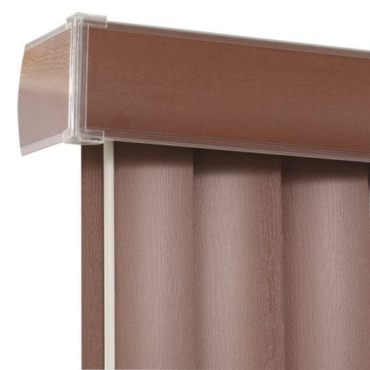 Faux Wood Vertical Blinds 6433