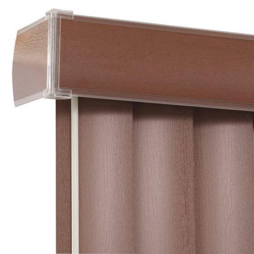 """3 1/2"""" Premium Faux Wood Vertical Blinds 4851"""