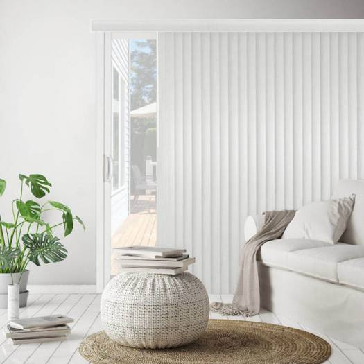 Faux Wood Vertical Blinds 6434