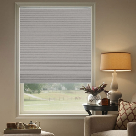"3/4"" Single Cell (Carriann) Designer Signature Blackout Honeycomb Shades 4628"