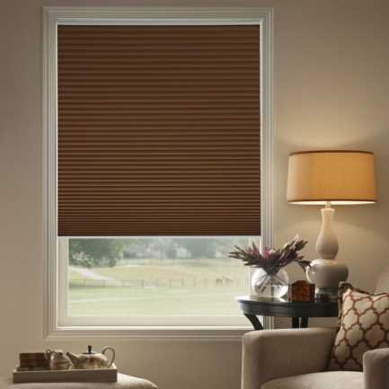 "3/4"" Single Cell (Carriann) Designer Signature Blackout Honeycomb Shades 4629"