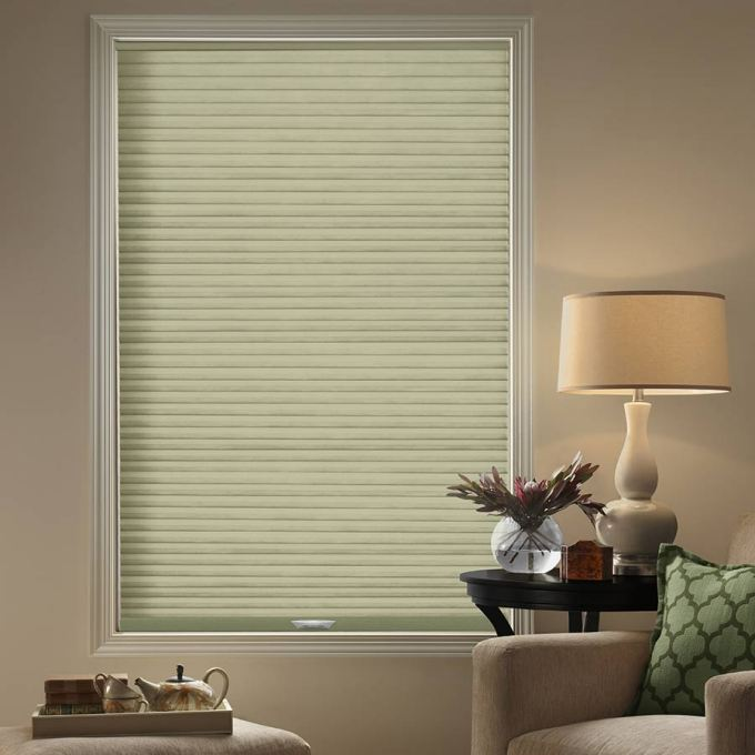 "3/4"" Single Cell (Carriann) Designer Signature Blackout Honeycomb Shades 4631"