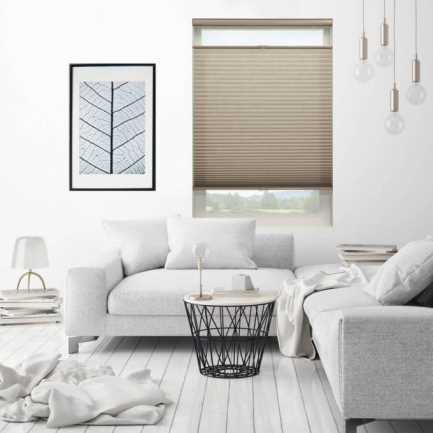 "3/4"" Single Cell (Carriann) Designer Signature Light Filtering Honeycomb Shades 4646 Thumbnail"
