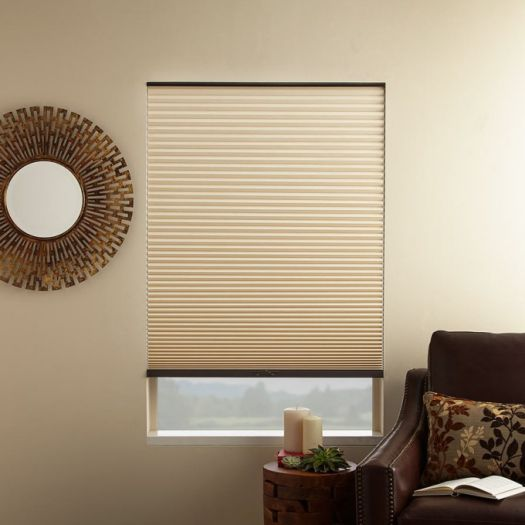"3/4"" Single Cell (Good Housekeeping) Designer Signature Blackout Honeycomb Shades 5229"