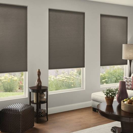 "3/4"" Single Cell (Good Housekeeping) Designer Signature Blackout Honeycomb Shades 5230"