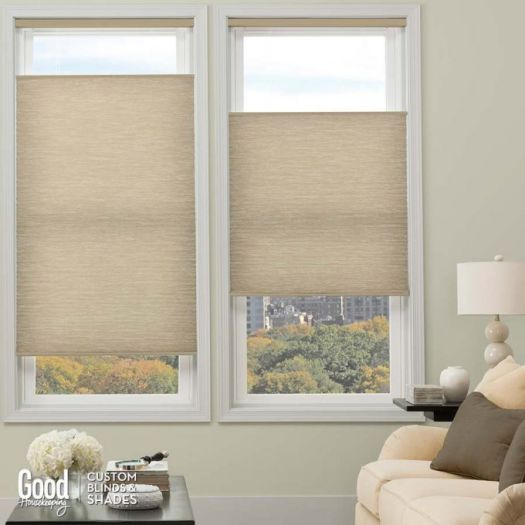 "3/4"" Single Cell (Good Housekeeping) Designer Signature Blackout Honeycomb Shades 5234"