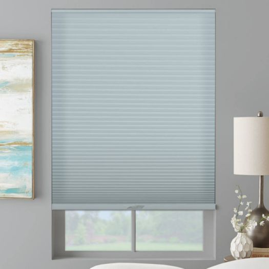 "3/4"" Single Cell (Good Housekeeping) Designer Signature Light Filtering Honeycomb Shades 5246"