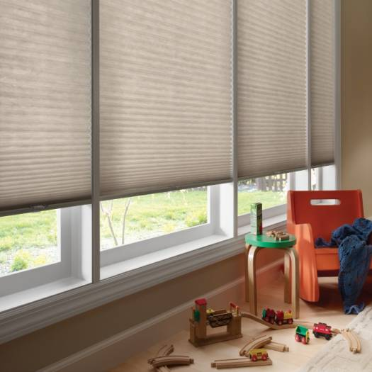 "3/4"" Single Cell (Good Housekeeping) Designer Signature Light Filtering Honeycomb Shades 5250"