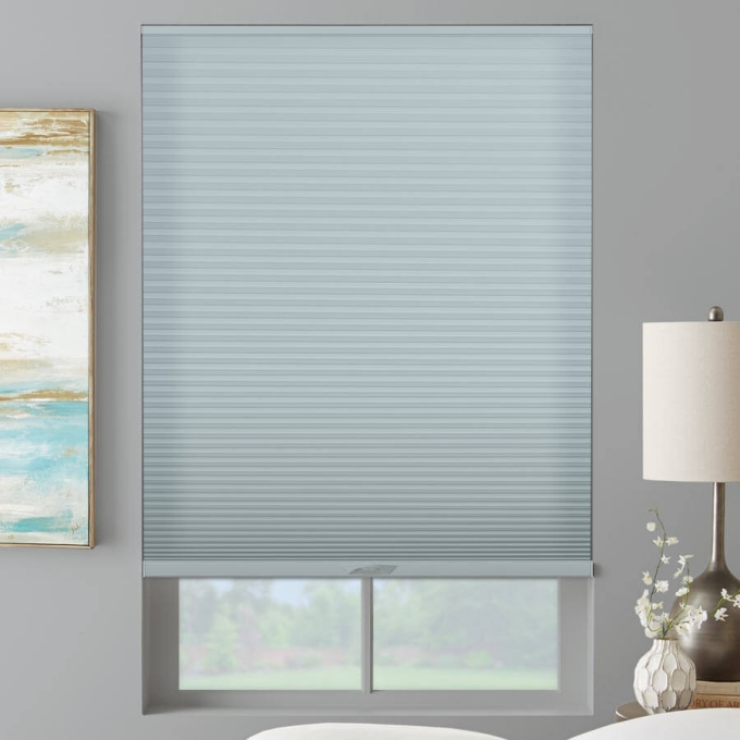 "3/4"" Single Cell (Good Housekeeping) Designer Signature Light Filtering Honeycomb Shades"