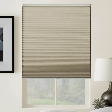 Designer Cordless Blackout Honeycomb Shades 5174