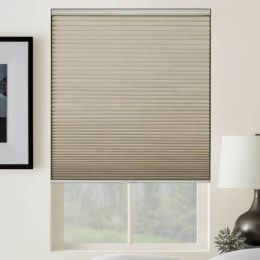 Designer Cordless Blackout Honeycomb Shades