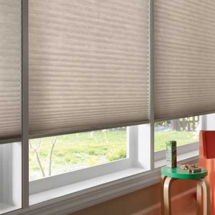 "3/4"" Single Cell (Good Housekeeping) Premium Cordless Light Filtering Honeycomb Shades 5164"