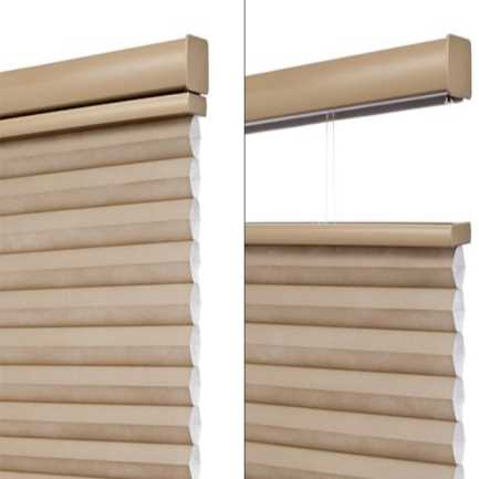 "3/4"" Single Cell (Good Housekeeping) Premium Cordless Light Filtering Honeycomb Shades 5166 Thumbnail"