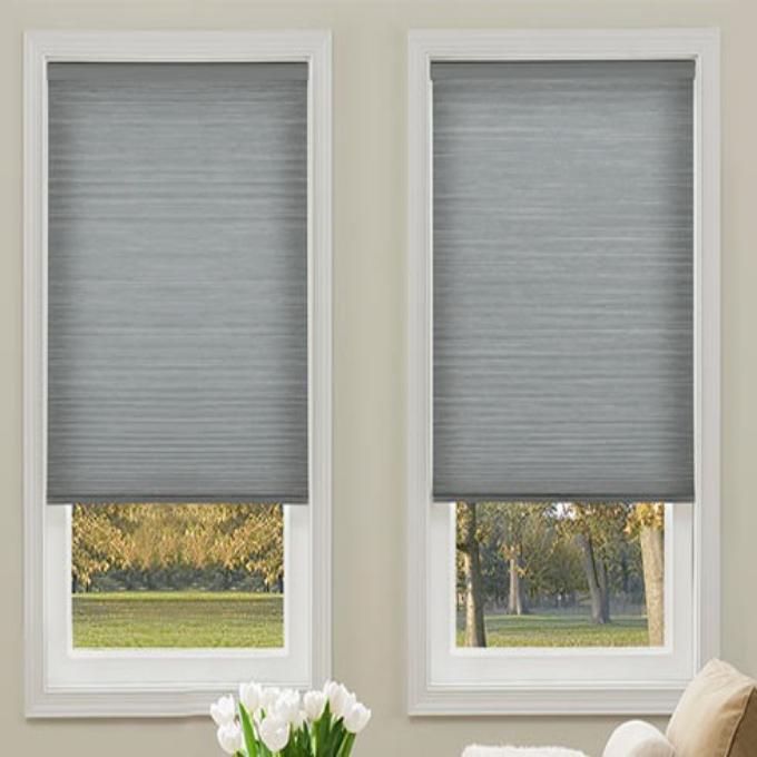 "3/4"" Single Cell (Good Housekeeping) Premium Cordless Light Filtering Honeycomb Shades"