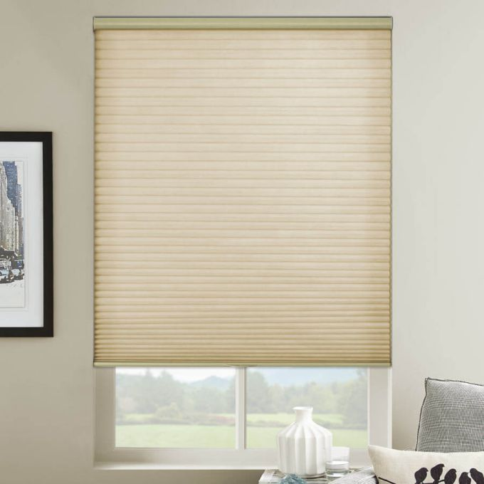 Designer Cordless Light Filtering Honeycomb Shades 5163