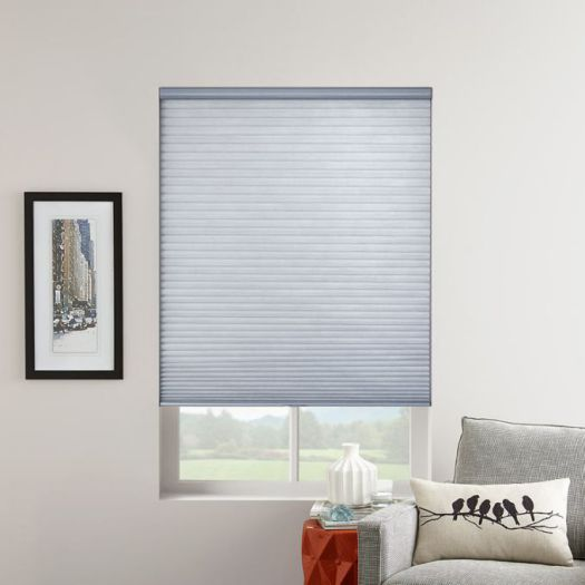 "3/4"" Single Cell (Good Housekeeping) Premium Cordless Light Filtering Honeycomb Shades 7066"