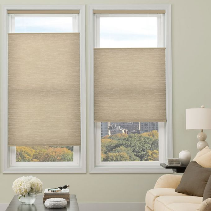 Designer Cordless Light Filtering Honeycomb Shades 5166