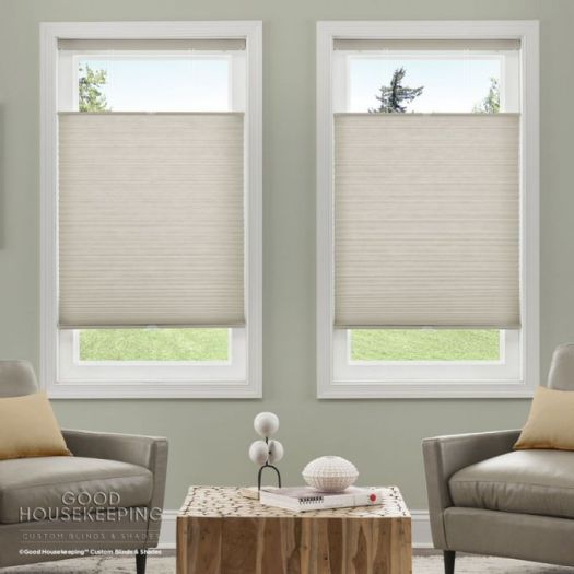 "3/4"" Single Cell (Good Housekeeping) Premium Cordless Light Filtering Honeycomb Shades 7060"