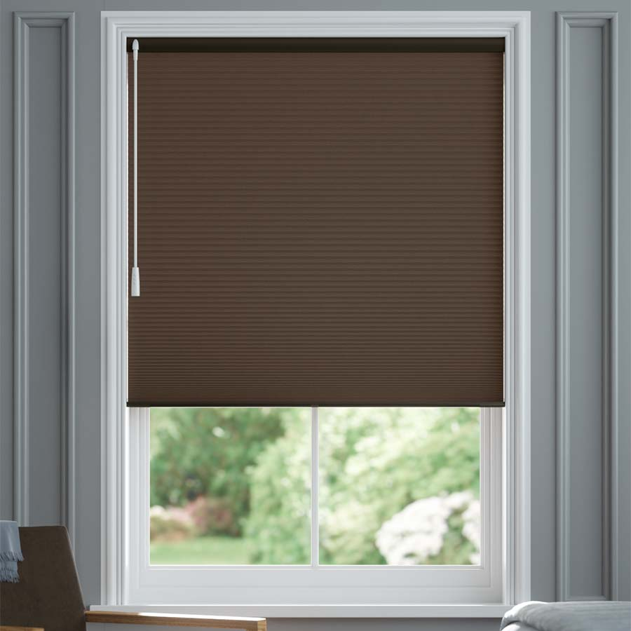 3 4 Quot Single Cell Value Plus Blackout Honeycomb Shades