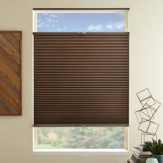 "3/4"" Single Cell Value Plus Blackout Honeycomb Shades 5678"