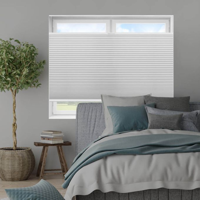 "3/4"" Single Cell Value Plus Blackout Honeycomb Shades 5680"