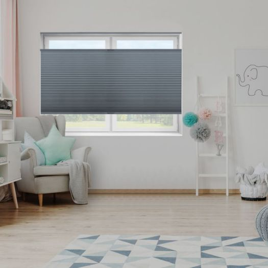 "3/4"" Single Cell Value Plus Blackout Honeycomb Shades 5681"