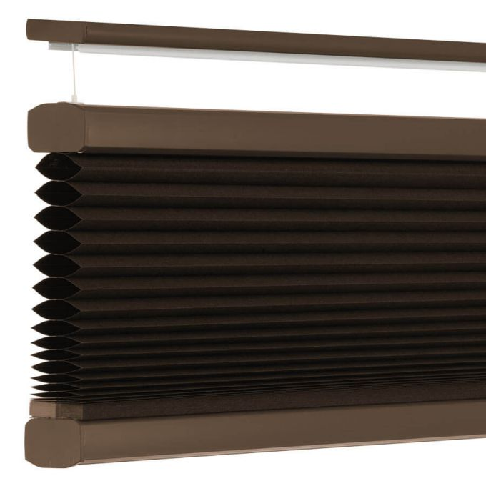 "3/4"" Single Cell Value Plus Blackout Honeycomb Shades 5685"