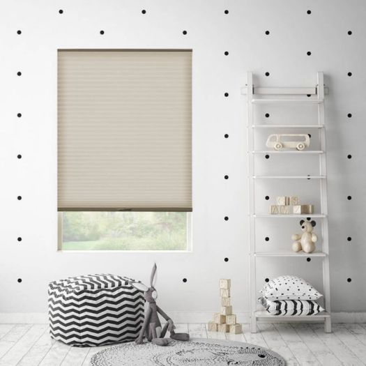 "3/4"" Single Cell Light Filtering Honeycomb Shades 6158"
