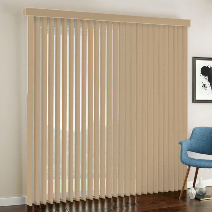 3 189 Quot Premium Fabric Vertical Blinds