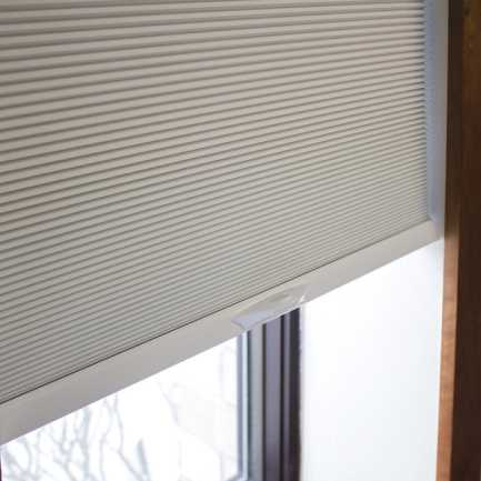 "3/8"" Double Cell Premium Plus Light Filter Honeycomb Shades 4940"